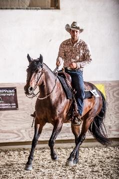 Andreas Brucks mit WRR Poco Bonita